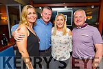 Ann and Shauna O'Donnell, Margo and Colin Rogers enjoying the evening in Benners Hotel on Saturday.