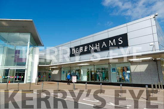 Debenhams shop in MAnor West shopping centre Tralee.