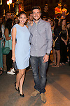 Sara Salamo and Raul Merida attends the party of Nike and Roberto Tisci at the Casino in Madrid, Spain. September 15, 2014. (ALTERPHOTOS/Carlos Dafonte)
