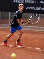 Netherlands, Rotterdam August 05, 2015, Tennis,  National Junior Championships, NJK, TV Victoria, Stian Klaasen<br /> Photo: Tennisimages/Henk Koster