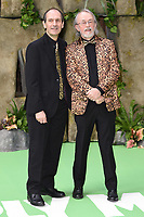 """David Sproxton and Peter Lord<br /> arriving for the """"Early Man"""" world premiere at the IMAX, South Bank, London<br /> <br /> <br /> ©Ash Knotek  D3369  14/01/2018"""