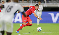 WASHINGTON, D.C. - OCTOBER 11: Tyler Boyd #21 of the United States moves with the ball during their Nations League game versus Cuba at Audi Field, on October 11, 2019 in Washington D.C.
