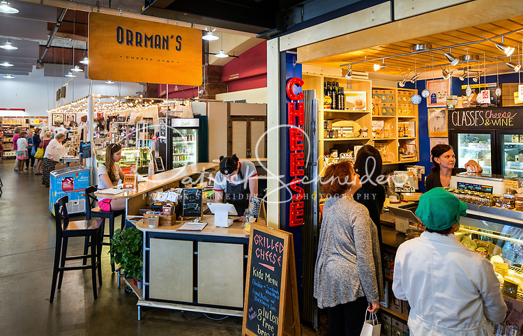 7th Street Public Market in Uptown Charlotte, North Carolina. Building upon the success of Charlotte's Center City Green Market, the Seventh Street Public Market opened in 2012 to be a year-round market serving and celebrating local food artisans, entrepreneurs and local and regional farmers. Image is part of a series of photos taken of the Center City attraction.<br /> <br /> Charlotte Photographer - PatrickSchneiderPhoto.com