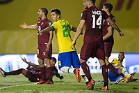 13th November 2020; Morumbi Stadium, Sao Paulo, Sao Paulo, Brazil; World Cup 2022 qualifiers; Brazil versus Venezuela;  Roberto Firmino of Brazil celebrates his goal in the 67th minute for 1-0