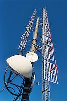 - antennas television repeaters at Valcava pass (Lecco)......- antenne ripetitori televisivi al passo di Valcava (Lecco)