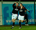 28/11/2004  Copyright Pic : James Stewart.File Name : jspa04_falkirk_v_ross_county.DANIEL MCBREEN CELEBRATES WITH DAYRLL DUFFY AFTER SCORING FALKIRK'S FIRST..........Payments to :.James Stewart Photo Agency 19 Carronlea Drive, Falkirk. FK2 8DN      Vat Reg No. 607 6932 25.Office     : +44 (0)1324 570906     .Mobile   : +44 (0)7721 416997.Fax         : +44 (0)1324 570906.E-mail  :  jim@jspa.co.uk.If you require further information then contact Jim Stewart on any of the numbers above.........