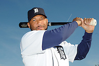 Feb 21, 2009; Lakeland, FL, USA; The Detroit Tigers outfielder Gary Sheffield (3) during photoday at Tigertown. Mandatory Credit: Tomasso De Rosa/ Four Seam Images