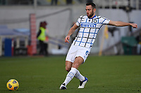 Stefan de Vrij of FC Internazionale in action during the Italy Cup round of 16 football match between ACF Fiorentina and FC Internazionale at Artemio Franchi stadium in Firenze (Italy), January 13th, 2021. Photo Andrea Staccioli / Insidefoto