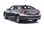 Car pictures of rear three quarter view of 2018 Acura ilx Tech Plus A Spec 4 Door Sedan angular rear