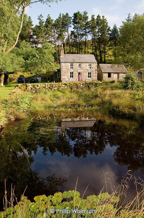 Farmhouse near the village of Croesor, Snowdonia National Park.
