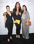 "Kim Kardashian,Khloe Kardashian Odom and Kourtney Kardashian at The Fragrance Launch event for ""Unbreakable by Khloe + Lamar"" held at The Redbury Hotel in Hollywood, California on April 04,2011                                                                               © 2010 Hollywood Press Agency"
