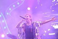 Recife (PE), 24/02/2020 - Carnava;-Recife - Cantora Pitty durante show realizado no Polo de Carnaval do Marco Zero do Recife, nesta segunda-feira (24), fazendo parte da programacao do Carnaval da cidade. (Foto: Pedro De Paula/Codigo 19/Codigo 19)