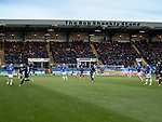 Dundee v St Johnstone…29.12.18…   Dens Park    SPFL<br />A great turnout from the St johnstone fans, over 1800 attended<br />Picture by Graeme Hart. <br />Copyright Perthshire Picture Agency<br />Tel: 01738 623350  Mobile: 07990 594431