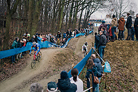STYBAR Zdeněk (CZE/Deceuninck-Quick Step) coming down the dirt jump descent<br /> <br /> GP Sven Nys (BEL) 2019<br /> DVV Trofee<br /> ©kramon