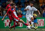 HKFA U-21 vs Yau Yee League Select during the Day 2 of the HKFC Citibank Soccer Sevens 2014 on May 24, 2014 at the Hong Kong Football Club in Hong Kong, China. Photo by Xaume Olleros / Power Sport Images