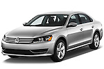 Front three quarter view of a 2012 Volkswagen Passat SE 7A.