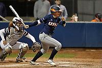 SAN ANTONIO, TX - FEBRUARY 17, 2018: The University of Texas at San Antonio Roadrunners defeat the Missouri State University Bears 4-3 at Roadrunner Field. (Photo by Jeff Huehn)