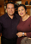Sara and Paulino Ramos at a special evening in honor of Alley Theatre's Wild Things at the Louis Vuitton store in The Galleria Wednesday Sept. 30,2015.(Dave Rossman photo)