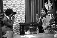 FILE PHOTO - Le Photographe Antoine Desilet en 1980<br /> <br /> PHOTO :  Andre Boucher - Agence quebec Presse<br /> <br /> HI RES Sur demande - aucune restriction