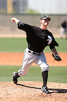 Jimmy Ballinger, Chicago White Sox 2010 minor league spring training..Photo by:  Bill Mitchell/Four Seam Images.