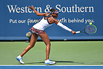 August  15, 2019:  Venus Williams (USA) defeated Donna Vekic (CRO) 2-6, 6-3, 6-3, at the Western & Southern Open being played at Lindner Family Tennis Center in Mason, Ohio. ©Leslie Billman/Tennisclix/CSM
