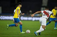 5th July 2021; Nilton Santos Stadium, Rio de Janeiro, Brazil; Copa America, Brazil versus Peru; Lucas Paquetá of Brazil