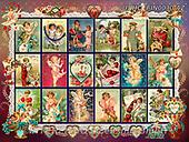 ,LANDSCAPES, LANDSCHAFTEN, PAISAJES, LornaFinchley, paintings+++++,USHCFIN0030AZ,#L#, EVERYDAY ,vintage,stamps,puzzle,puzzles