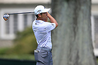 4th September 2020, Atlanta GA, USA;  Xander Schauffele tees off during the first round of the TOUR Championship  at the East Lake Golf Club in Atlanta, GA.