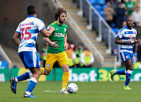 Preston North End's Ben Pearson competing with Reading's Andy Rinomhota <br /> <br /> Photographer Andrew Kearns/CameraSport<br /> <br /> The EFL Sky Bet Championship - Reading v Preston North End - Saturday 30th March 2019 - Madejski Stadium - Reading<br /> <br /> World Copyright © 2019 CameraSport. All rights reserved. 43 Linden Ave. Countesthorpe. Leicester. England. LE8 5PG - Tel: +44 (0) 116 277 4147 - admin@camerasport.com - www.camerasport.com