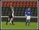17/8/02               Copyright Pic : James Stewart                     .File Name : stewart-airdrie v stranraer 19.REFEREE IAN FYFE SENDS OFF MICHAEL MOORE FOR HIS SECOND BOOKABLE OFFENCE....James Stewart Photo Agency, 19 Carronlea Drive, Falkirk. FK2 8DN      Vat Reg No. 607 6932 25.Office : +44 (0)1324 570906     .Mobile : + 44 (0)7721 416997.Fax     :  +44 (0)1324 570906.E-mail : jim@jspa.co.uk.If you require further information then contact Jim Stewart on any of the numbers above.........