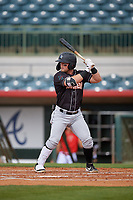 Jupiter Hammerheads Cameron Baranek (8) at bat during a Florida State League game against the Florida Fire Frogs on April 8, 2019 at Osceola County Stadium in Kissimmee, Florida.  Florida defeated Jupiter 7-6 in ten innings.  (Mike Janes/Four Seam Images)
