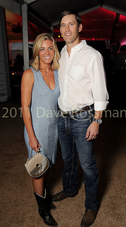 Kristen and Lee Nix at the Nature Conservancy's Nature Rocks  Gala at the Houston Polo Club Thursday Oct. 22,2015.(Dave Rossman photo)