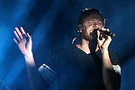 Imagine Dragons performs at Harveys Lake Tahoe Outdoor Arena in Stateline, Nev., on Saturday, July 18, 2015. <br /> Photo by Cathleen Allison