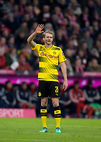 31.03.2018, Football 1. Bundesliga 2017/2018, 28.  match day, FC Bayern Muenchen - Borussia Dortmund, in Allianz-Arena Muenchen. Andre Schuerrle (Dortmund) dejected. *** Local Caption *** © pixathlon