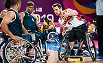 Colin Higgins, Lima 2019 - Wheelchair Basketball // Basketball en fauteuil roulant.<br />