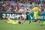 Australia vs USA during the Bronze Medal Final as part of the HSBC Hong Kong Rugby Sevens 2017 on 09 April 2017 in Hong Kong Stadium, Hong Kong, China. Photo by Victor Fraile / Power Sport Images