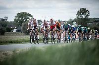 Dries de Bondt (BEL/Corendon Circus) leads the Peloton<br /> <br /> GP Marcel Kint 2019 (BEL)<br /> One Day Race: Kortrijk – Zwevegem 188.10km. (UCI 1.1)<br /> Bingoal Cycling Cup 2019