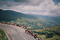 fans waiting for the race up the Col de Val Louron-Azet <br /> <br /> Stage 17: Bagnères-de-Luchon > Saint-Lary-Soulan (65km)<br /> <br /> 105th Tour de France 2018<br /> ©kramon