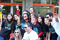 CURITIBA, PR, 17.05.2014 -  21ª MARCHA PARA JESUS / CURITIBA - Aconteçe na manhã deste sábado (17), pelas ruas do centro e centro Civico de Curiitiba à 21ª Marcha Para Jesus. O  objetivo da Marcha é promover a união entre as igrejas evangélicas e demonstrar o respeito do povo evangélico pela cidade e estado e pais, por meio de orações sociais. (Foto: Paulo Lisboa / Brazil Photo Press)