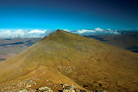 The Munro of Ben More from Stob Binnein, Loch Lomond and the Trossachs National Park