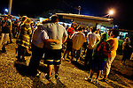 WISE, VIRGINIA-JULY 25: People wait in the early hours of the morning to enter the Virginia-Kentucky Fairgrounds for free medical care provided by the Remote Area Medical (RAM) Expedition in the heart of the Appalachian mountains July 25, 2009. Many have slept overnight in their cars, trucks, RVs or in tents. The two and half-day event helped provide health care for 2,715 people, most of whom are uninsured or underinsured with unaffordable co-pays or high deductibles for their insurance policies. An army of seventeen hundred volunteers including individual doctors, nurses, members of the UVa medical and nursing schools, and the Lions Club helped organized the event and provide services. Organizers estimate that they provided over $1.6 million USD worth of care.