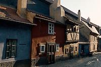 Goldenes Gaesschen (Zlata Ulicka), Prag, Tschechien, Unesco-Weltkulturerbe