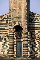 Europe/France/Corse/2B/Haute-Corse/Nebbio/Murato: Eglise-mosaïque de San Michele