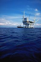 Oil platforms in the Santa Barbara Channel