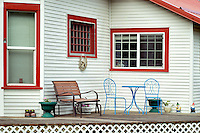 House and porch. Joseph, Oregon