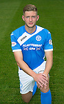 St Johnstone FC photocall Season 2016-17<br />Liam Gordon<br />Picture by Graeme Hart.<br />Copyright Perthshire Picture Agency<br />Tel: 01738 623350  Mobile: 07990 594431
