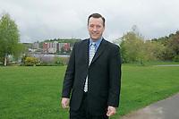 Montreal Qc CANADA - 2008 File Photo -<br /> Luc Arvisais, directeur general du CLD Shawinigan et candidat de l'Action Democratique du Quebec au dernieres electiond du 14 Dec 2008.