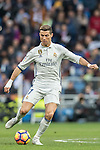 Cristiano Ronaldo (r) of Real Madrid in action during their La Liga 2016-17 match between Real Madrid and Malaga CF at the Estadio Santiago Bernabéu on 21 January 2017 in Madrid, Spain. Photo by Diego Gonzalez Souto / Power Sport Images