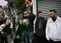 Anger and sadness among young Asian men after the killing of three men: 21 year old Haroon Jahan, and brothers Shazad Ali (30) and Abdul Musavir (31) who were killed on Tuesday evening in a hit and run incident by suspected looters as they guarded a petrol station forecourt with many other people on Dudley Road in the Winson Green area of Birmingham, which was hit by a surge of rioting and looting. The violence started in London on Saturday evening after a peaceful protest in response to the shooting by police of Mark Duggan during an attempted arrest escalated into a riot, but has now spread to other areas in the country.