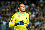 Goalkeeper Keylor Navas of Real Madrid reacts during the La Liga 2017-18 match between FC Barcelona and Real Madrid at Camp Nou on May 06 2018 in Barcelona, Spain. Photo by Vicens Gimenez / Power Sport Images